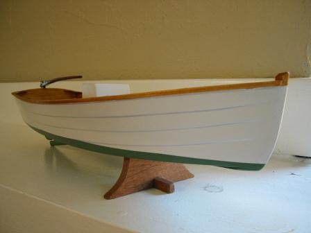 17 ft inboard diesel flat bottom skiff